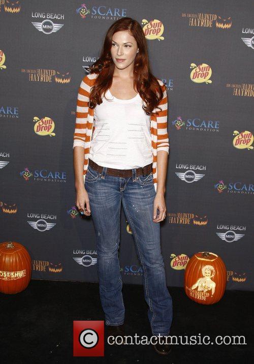 Amanda Righetti The 3rd annual Los Angeles Haunted...