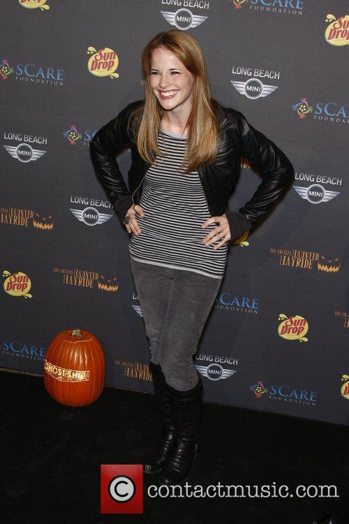 Katie Leclerc The 3rd annual Los Angeles Haunted...