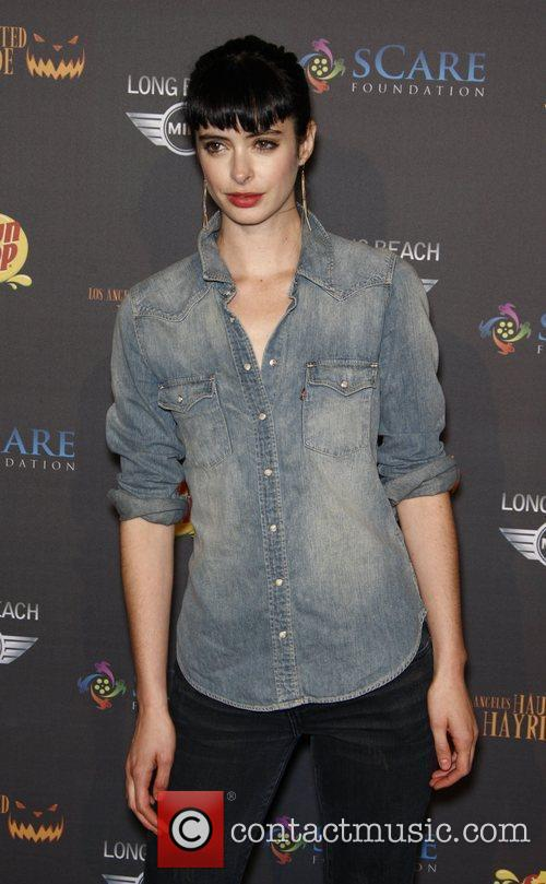 Krysten Ritter The 3rd annual Los Angeles Haunted...
