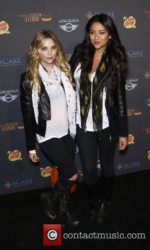 Amber Benson and Shay Mitchell The 3rd annual...
