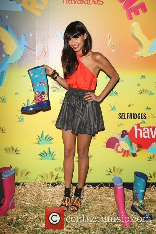 Jameela Jamil The launch of Havaianas Wellies at...