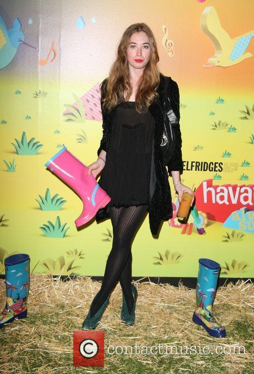 Anoushka Beckwith The launch of Havaianas Wellies at...