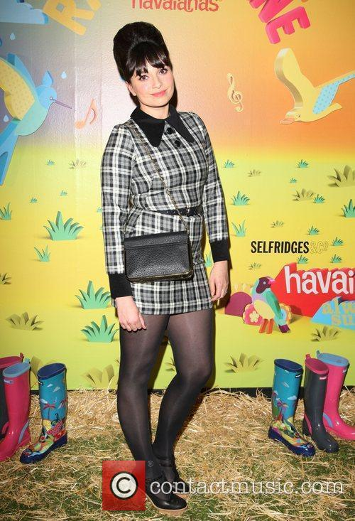 The launch of Havaianas Wellies at Selfridges