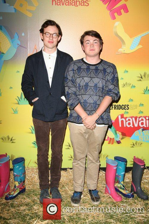 Guests The launch of Havaianas Wellies at Selfridges...