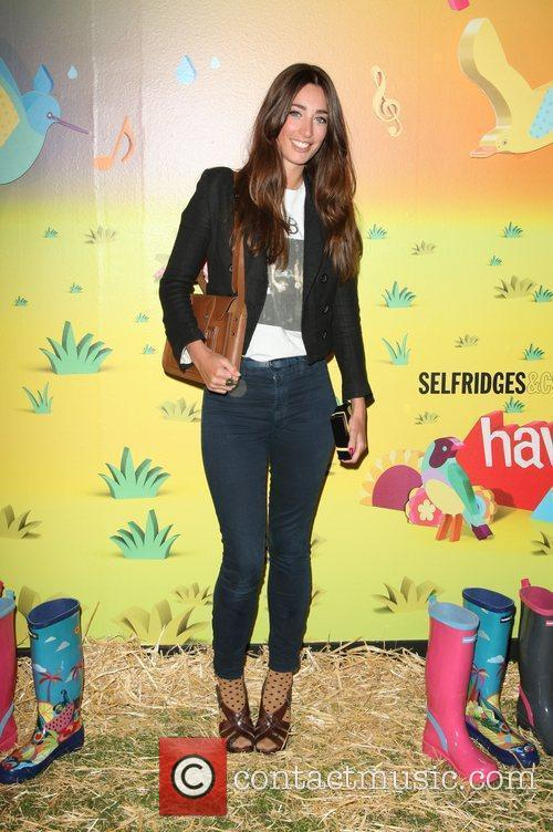 Laura Jackson The launch of Havaianas Wellies at...