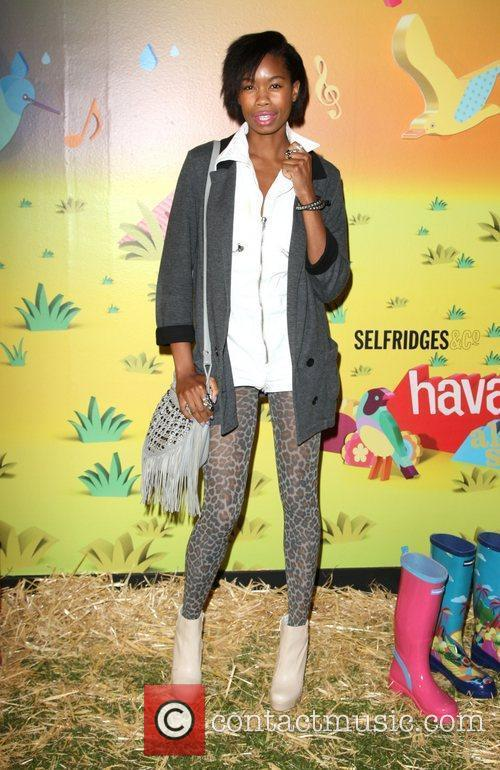 Tolula Adeyemi The launch of 'Havaianas Wellies' at...