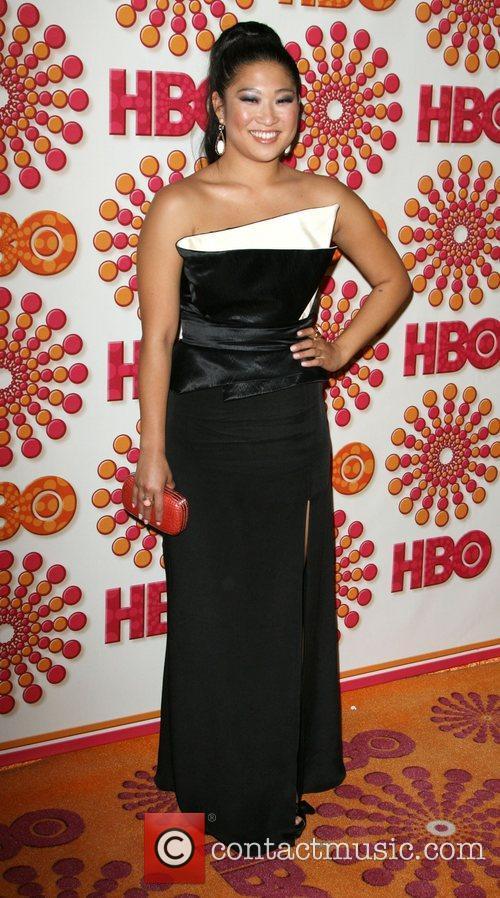 Jenna Ushkowitz 2011 HBO's Post Award Reception following...