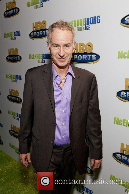 John McEnroe HBO Sports screening of McEnroe/Borg 'Fire...