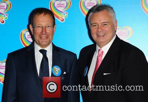 Richard Desmond and Eamonn Holmes The launch of...