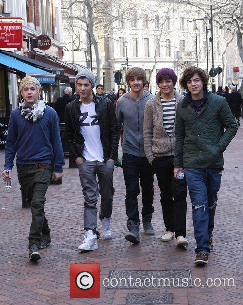 Niall Horan, Zain Malik, Liam Payne, Louis Tomlinson,...
