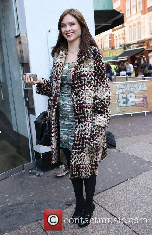 Sophie Ellis Bextor Celebrities outside the Heart Radio...