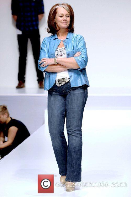 Arlene Dickinson  'The Heart Truth' fashion show...