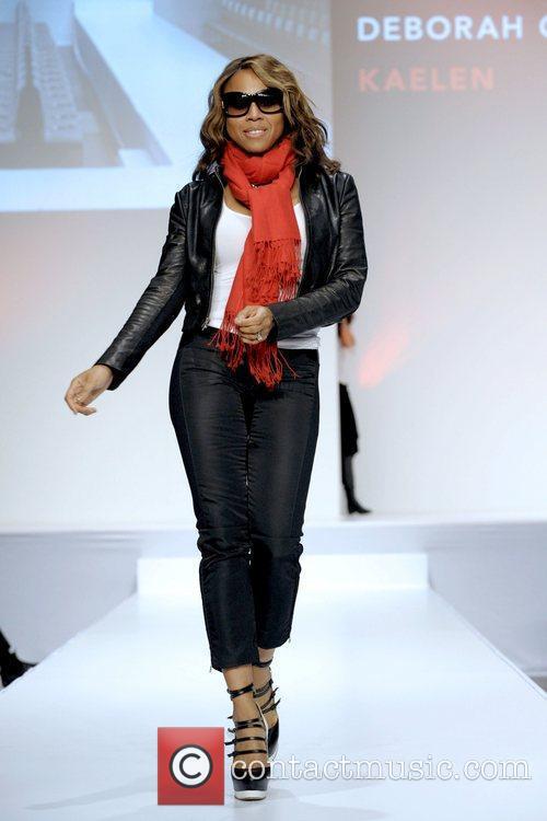 Deborah Cox  'The Heart Truth' fashion show...