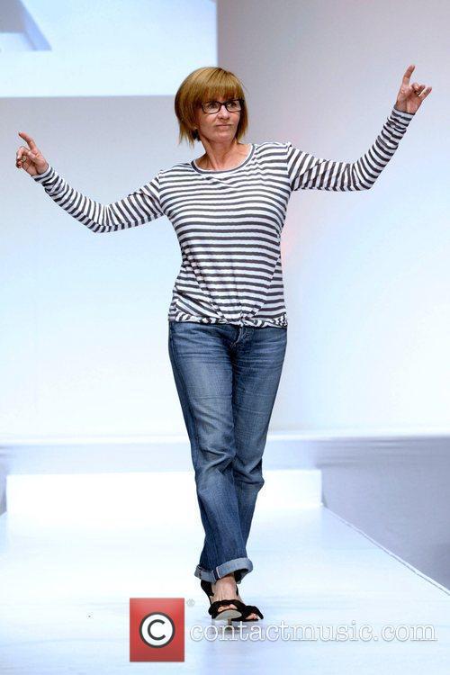 Debra McGrath  'The Heart Truth' fashion show...