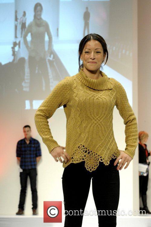 Emmanuelle Vaugier  'The Heart Truth' fashion show...