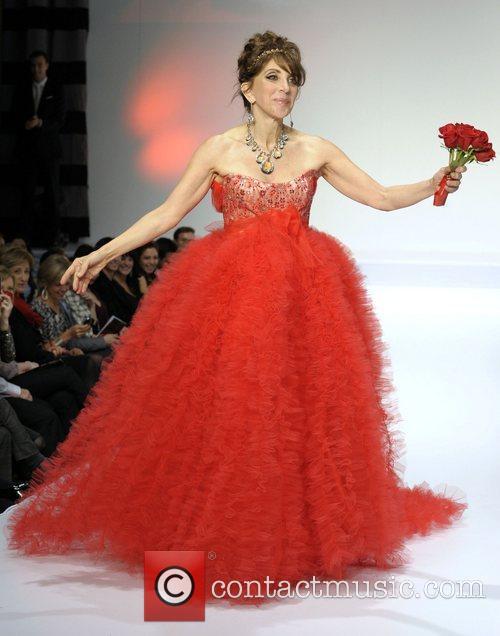 Andrea Martin 'The Heart Truth' fashion show held...