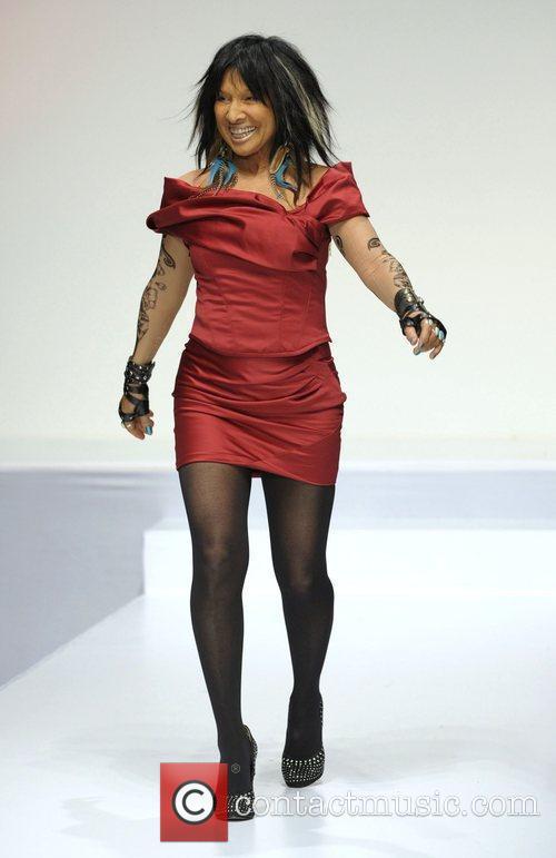 Buffy Sainte-Marie 'The Heart Truth' fashion show held...