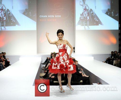 Chan Hon Goh 'The Heart Truth' fashion show...