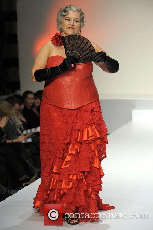 Christiane Leberge 'The Heart Truth' fashion show held...
