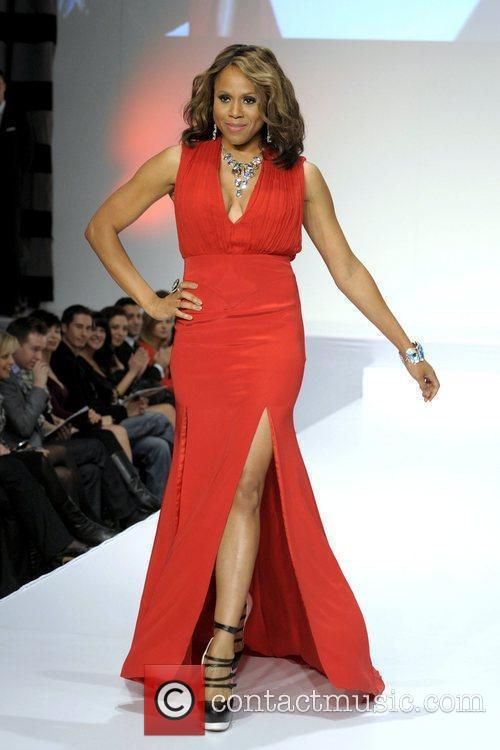 Deboarh Cox 'The Heart Truth' fashion show held...