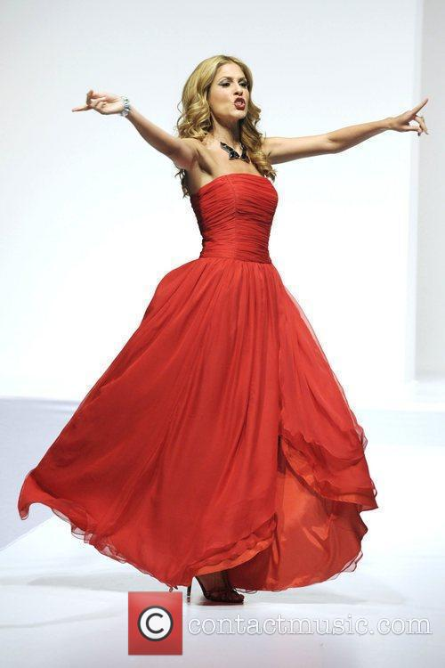Dina Pugliese 'The Heart Truth' fashion show held...