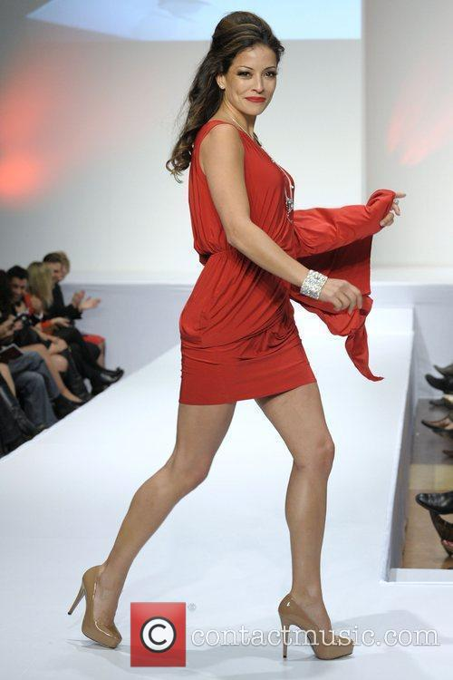 'The Heart Truth' fashion show held at The...