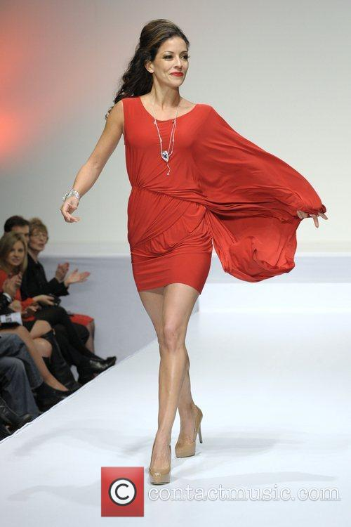 Emmanuelle Vaugier 'The Heart Truth' fashion show held...