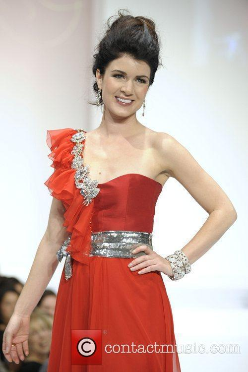 Gabrielle Miller 'The Heart Truth' fashion show held...