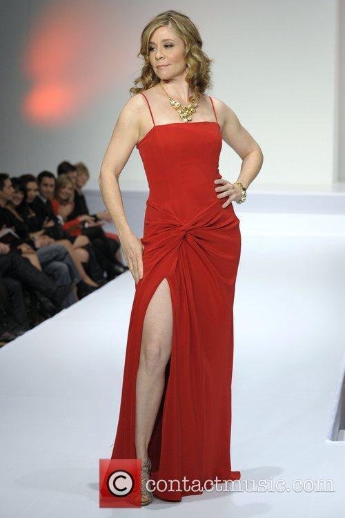 Megan Follows 'The Heart Truth' fashion show held...