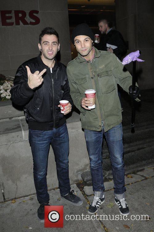 Jacob Hoggard and Dave Rosin  Canadian pop...