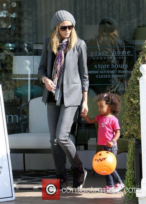 heidi klum shopping with her daughter lou 3591575