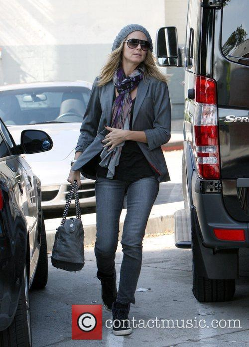 Heidi Klum shopping with her family in Brentwood...