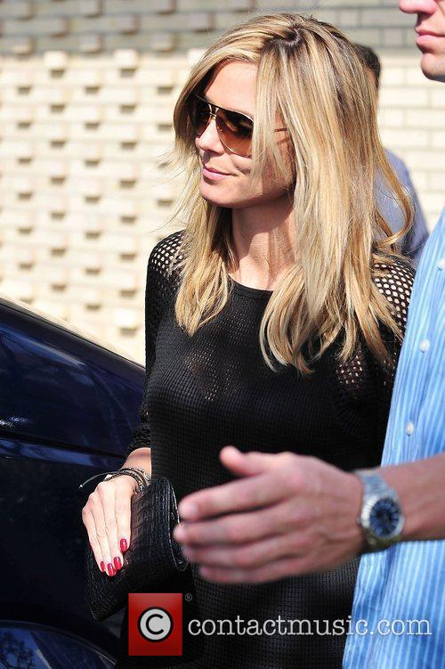 Heidi Klum  out and about in Brentwood...