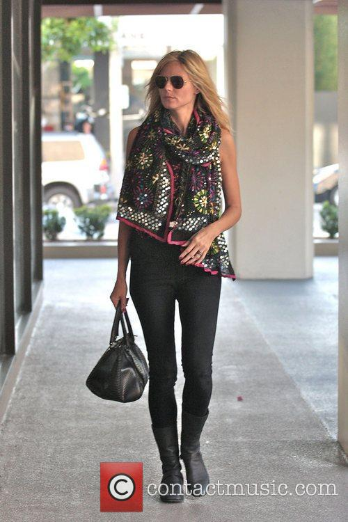Heidi Klum shopping at Kitson For Kids on...