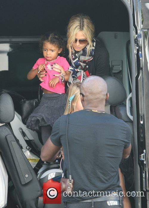 heidi klum and seal go for lunch 3570251