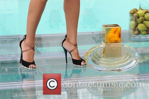 Heidi Klum (shoe detail) Heidi Klum debuts her...