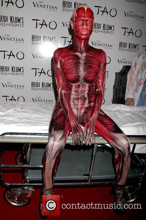 Heidi Klum and Tao Nightclub 54