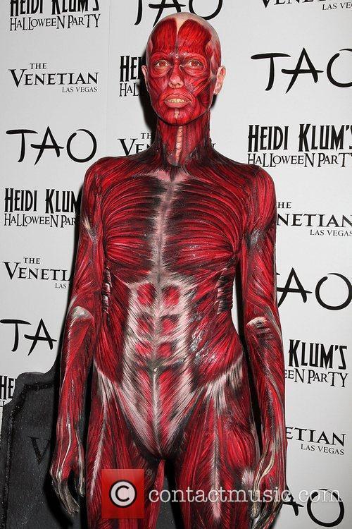 Heidi Klum and Tao Nightclub 53