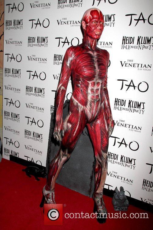 Heidi Klum and Tao Nightclub 49