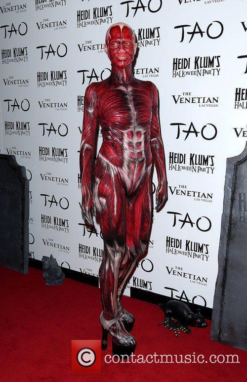 Heidi Klum and Tao Nightclub 29
