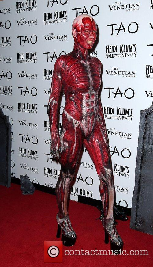 Heidi Klum and Tao Nightclub 2