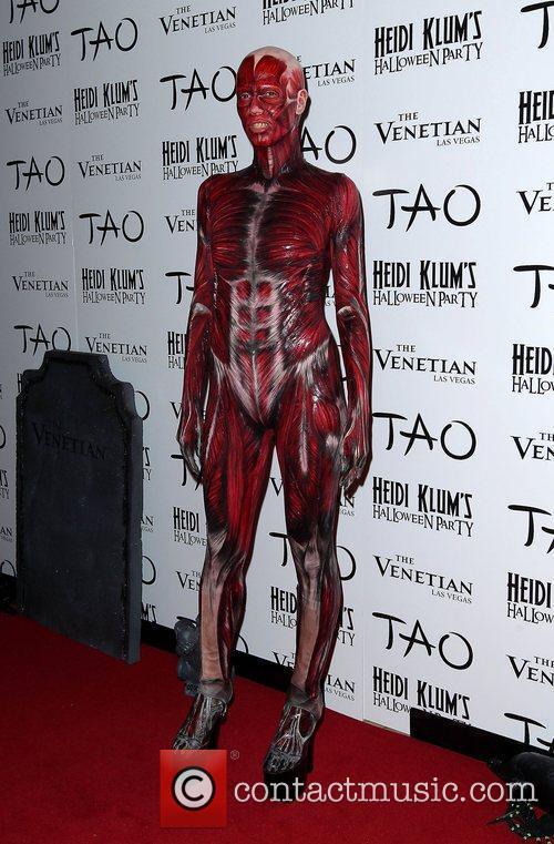 Heidi Klum and Tao Nightclub 28
