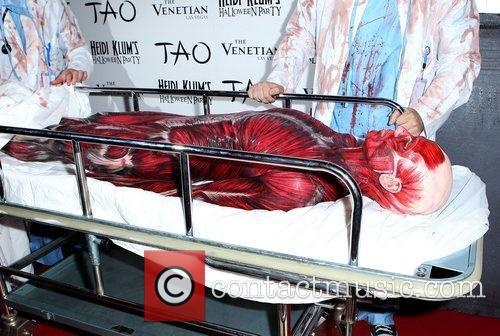 Heidi Klum and Tao Nightclub 34