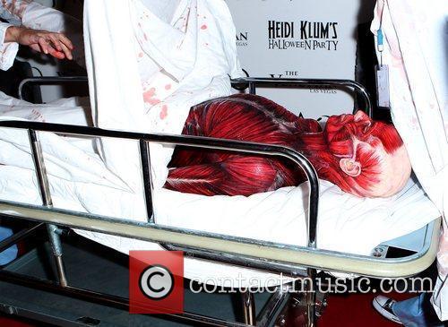 Heidi Klum and Tao Nightclub 26