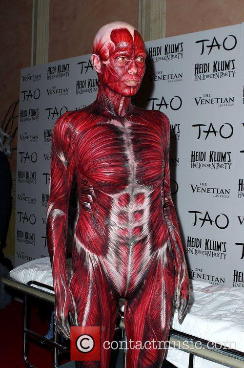 Heidi Klum and Tao Nightclub 13