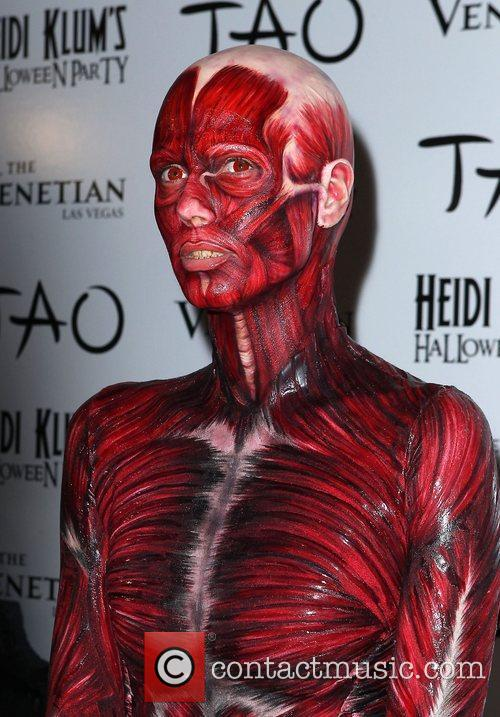 Heidi Klum and Tao Nightclub 9