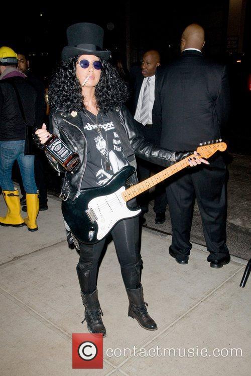 Amber Rose Heidi Klum's Halloween Party held at...