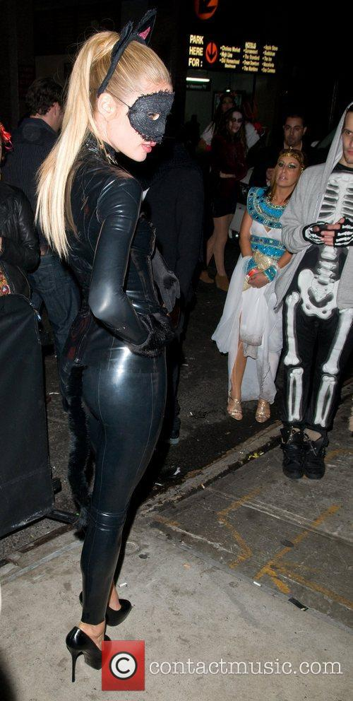 Doutzen Kroes Heidi Klum's Halloween Party held at...