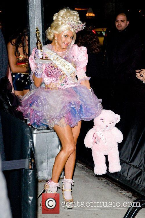 Heidi Klum's Halloween Party held at the Dream...