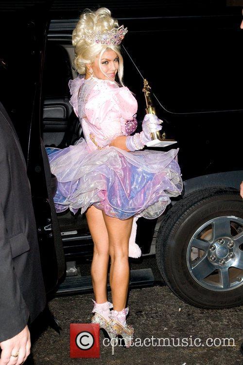 Fergie Heidi Klum's Halloween Party held at the...
